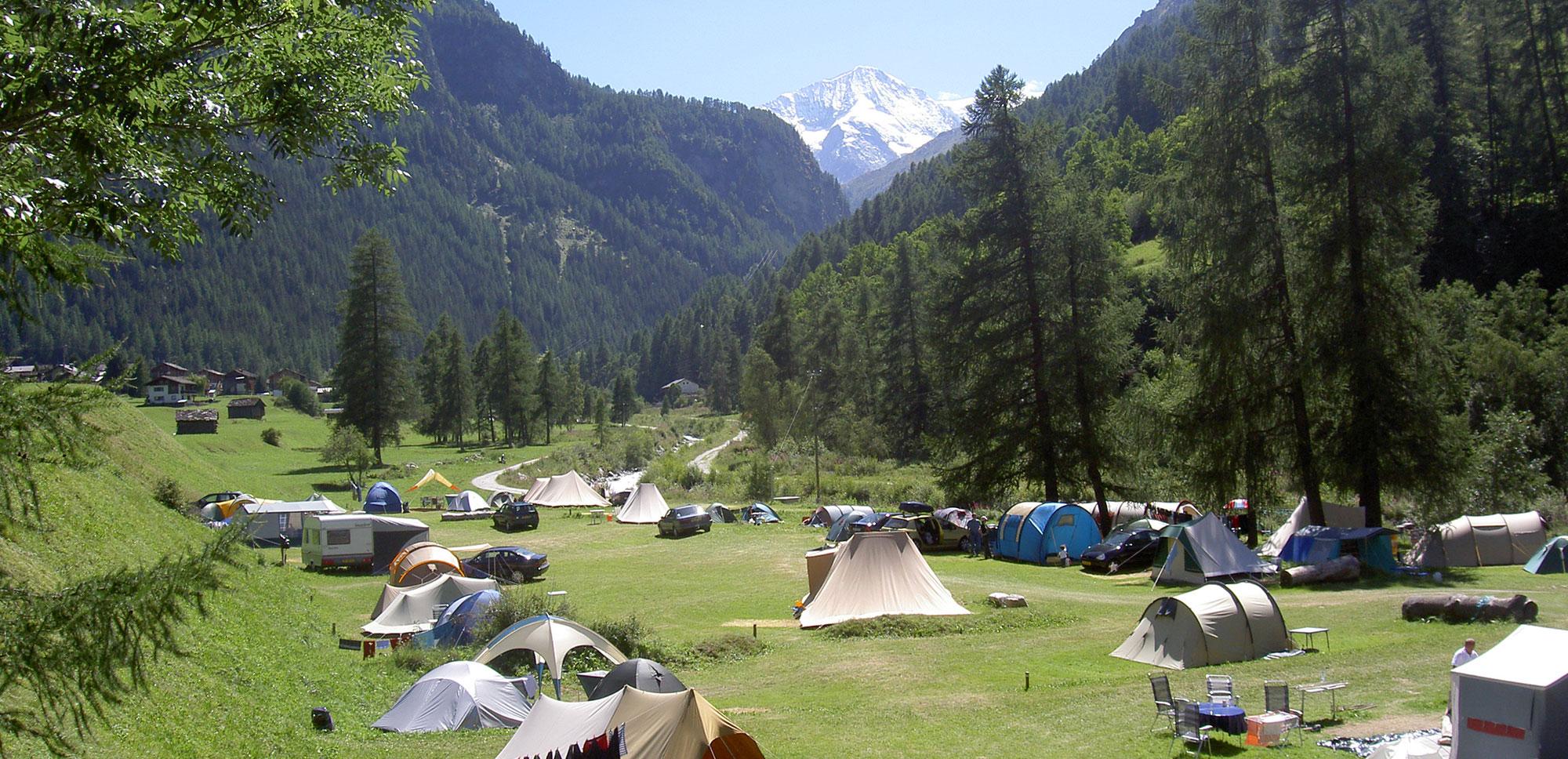 Vue du camping