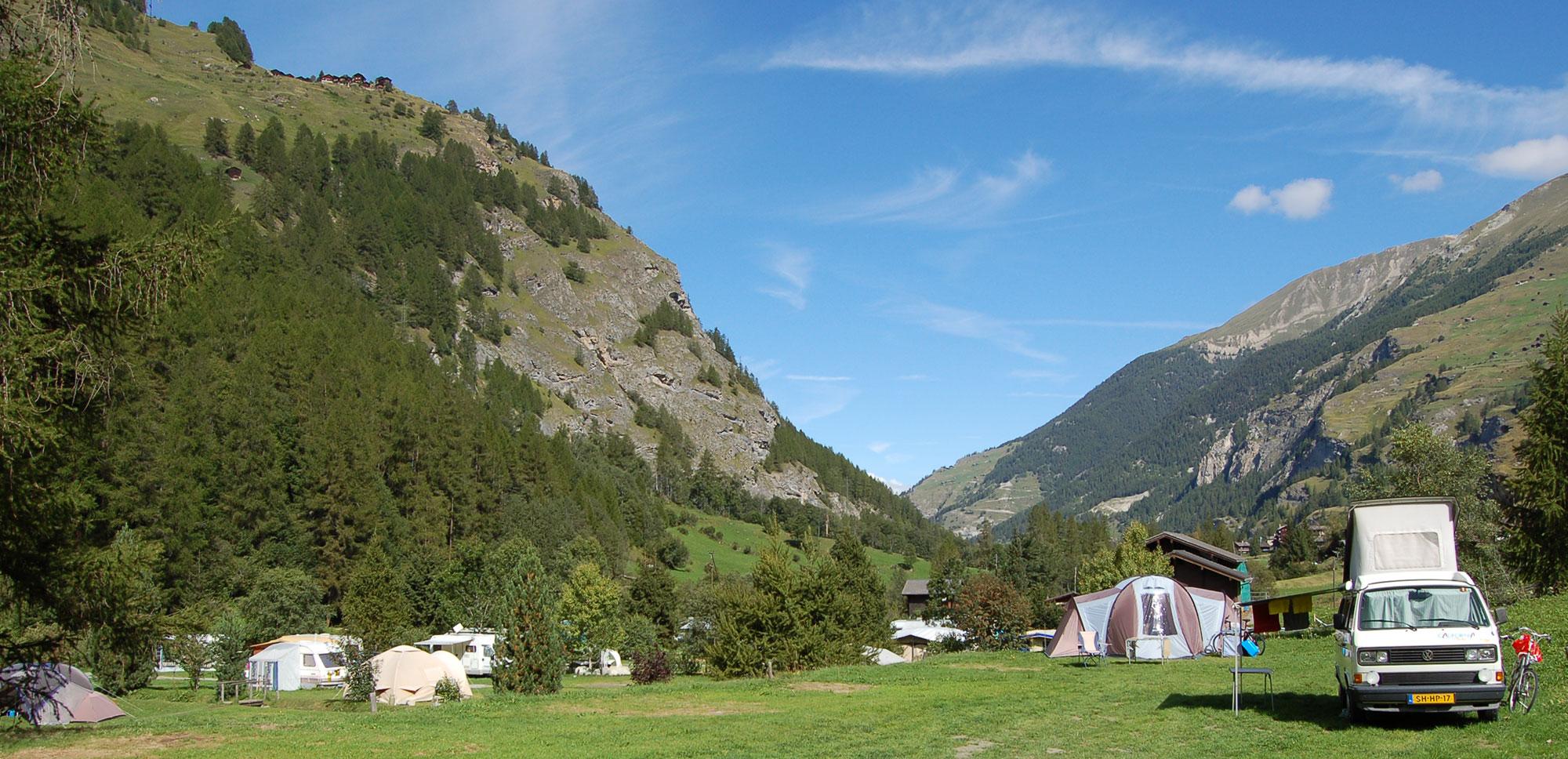 Camping Valais