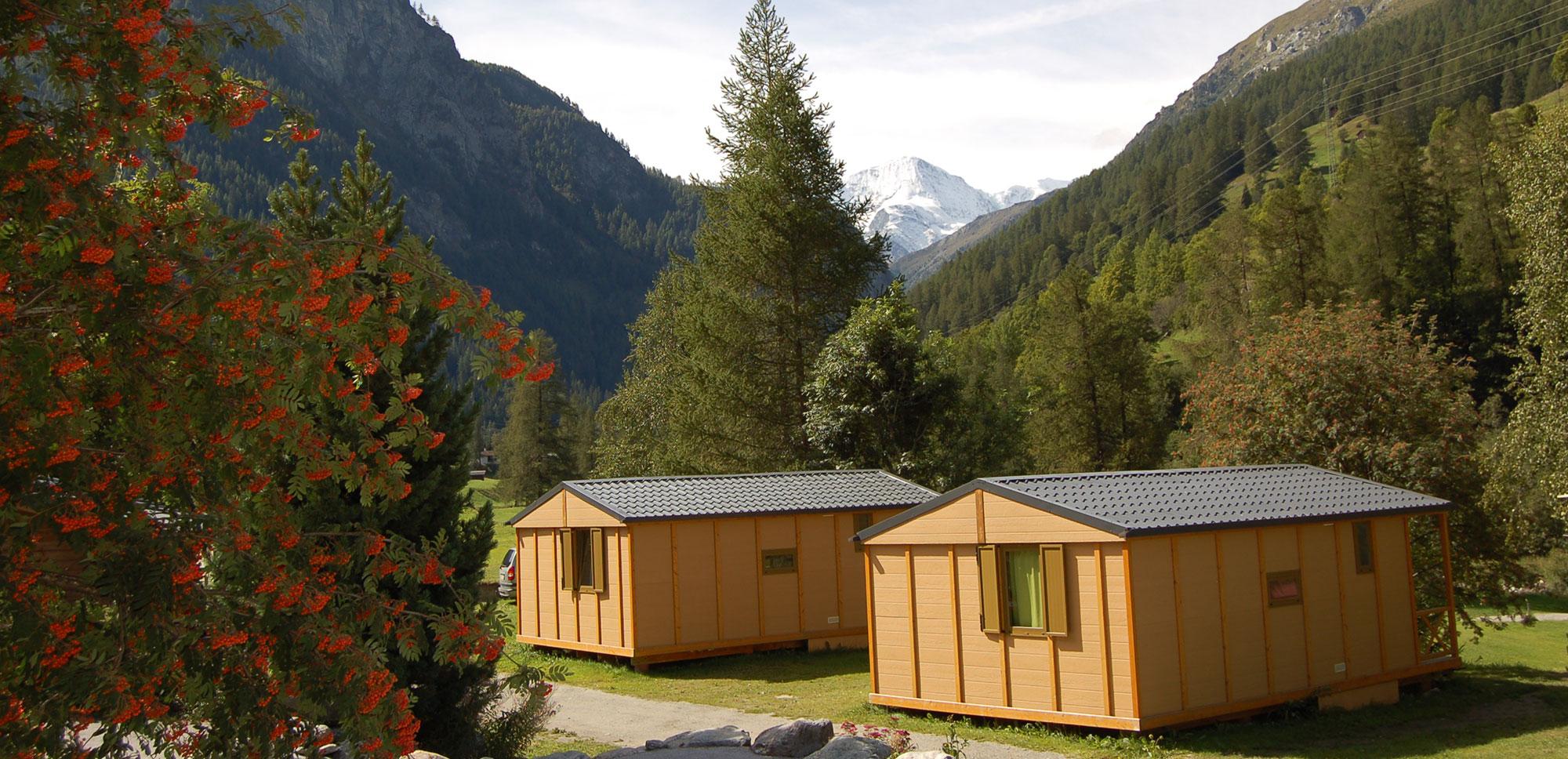 Les bungalows pour 4-6 personnes